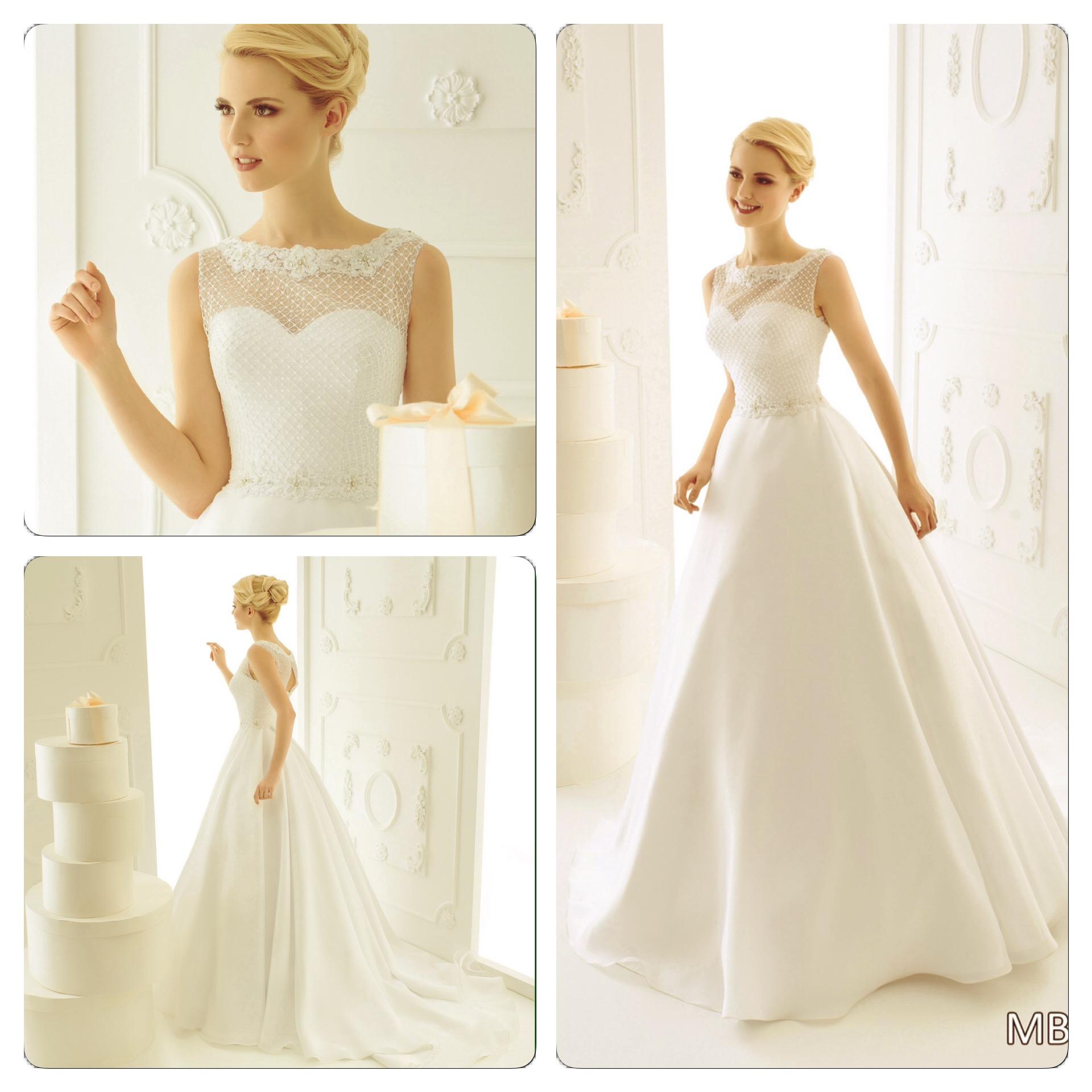 Свадебные платья из корсета и юбки фото